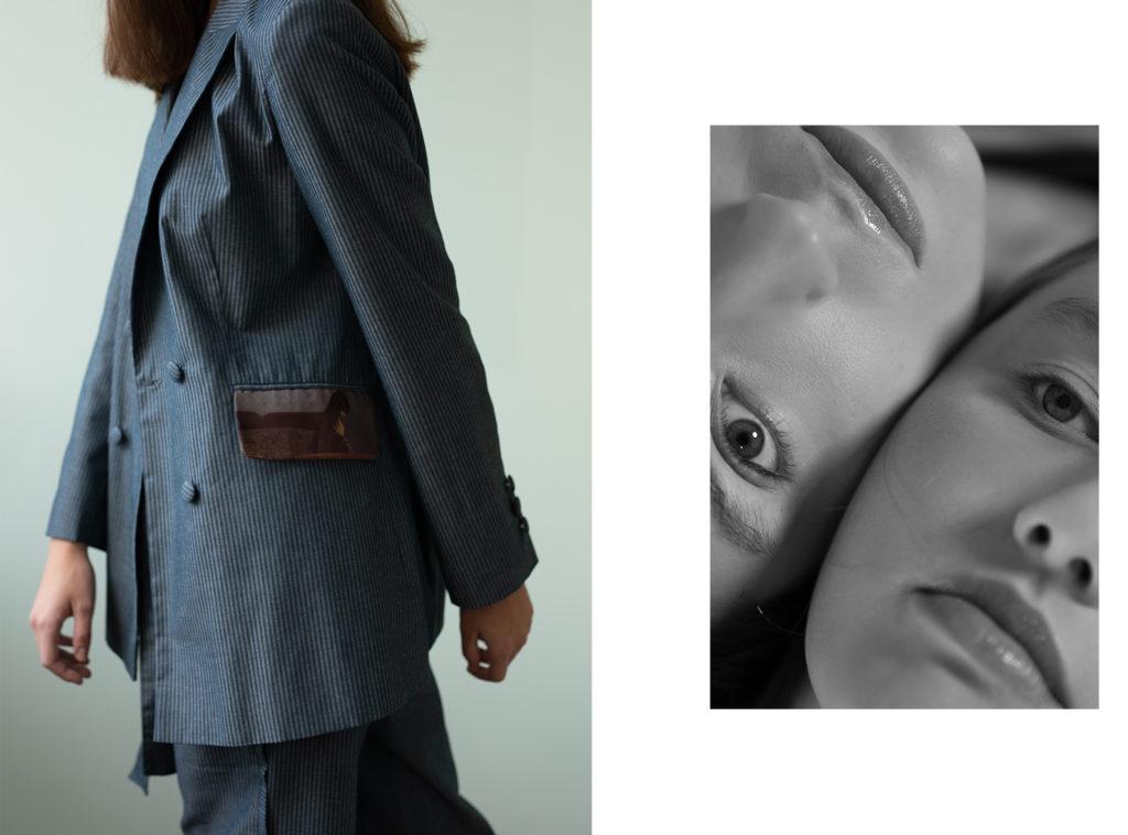 Limits . collection : Jana Vaterkova , ph : Jana Budainova , mua : Mischel Warenits , models : Sofia Richetrova & Tereza Hvozdarova