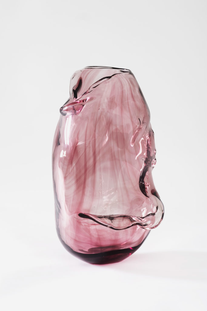 LABINAC Perfectly Imperfect, 2019, handblown Murano glass 37 x 25 x 25, designed by Maria Thereza Alves for LABINAC, ph: Nick Ash