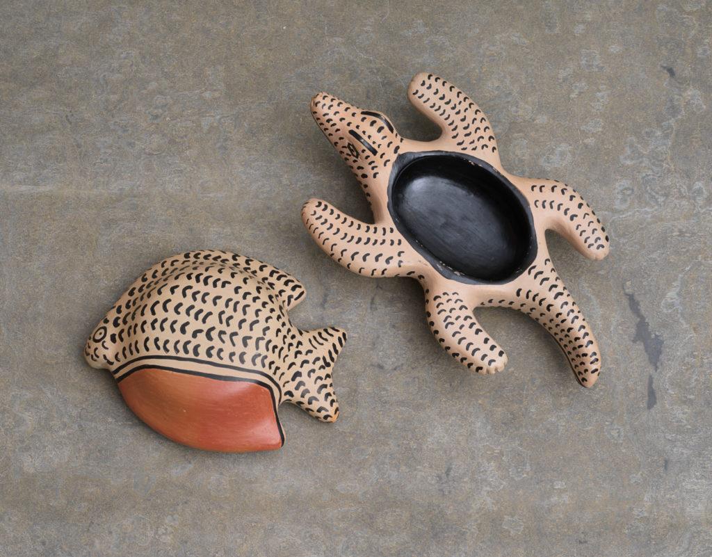 Ceramic bowls, 2018, ceramics, dimensions variable, made by Arupo Waura, ph: Nick Ash